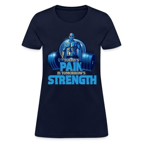 Heavy Lifting Man - Women's T-Shirt