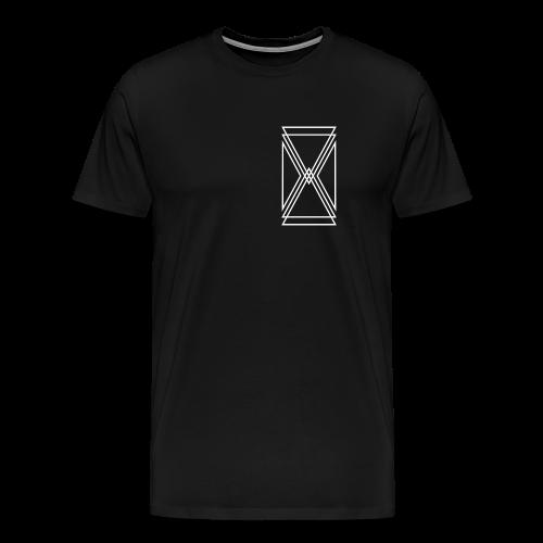 Breast Logo Shirt - Men's Premium T-Shirt