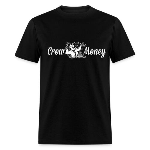 Crow Money Black - Men's T-Shirt