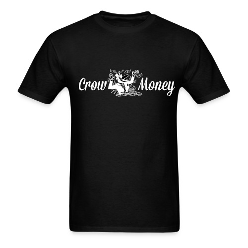 Crow Money Black - Men's T-Shirt