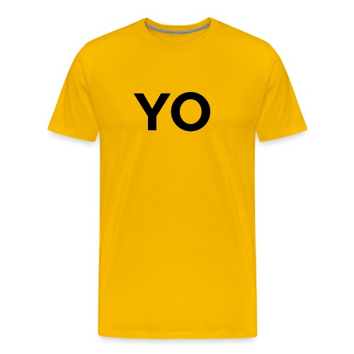 YO Shirt - Unisex - Men's Premium T-Shirt