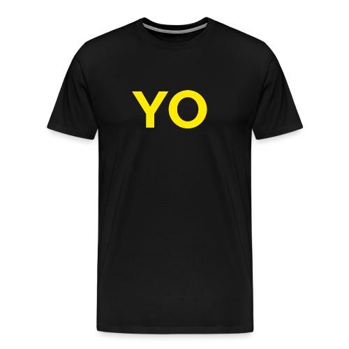 YO Shirt - Inverted - Men's Premium T-Shirt