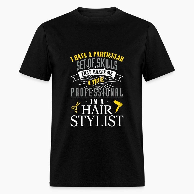 Hair stylist professional t shirt spreadshirt for Hair salon t shirt designs