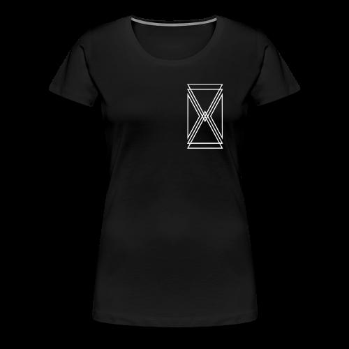 Women's Breast Logo Tee - Women's Premium T-Shirt