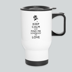 Freddie Keep Calm - Travel Mug