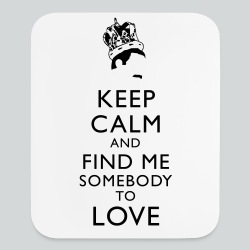 Freddie Keep Calm - Mouse pad Vertical