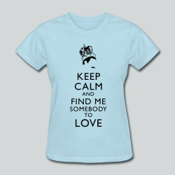 Freddie Keep Calm - Women's T-Shirt