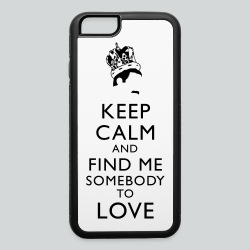 Freddie Keep Calm - iPhone 6/6s Rubber Case
