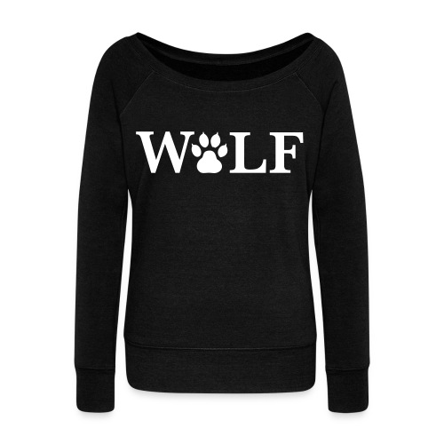 Wolfpac-Womens sweatshirt  - Women's Wideneck Sweatshirt