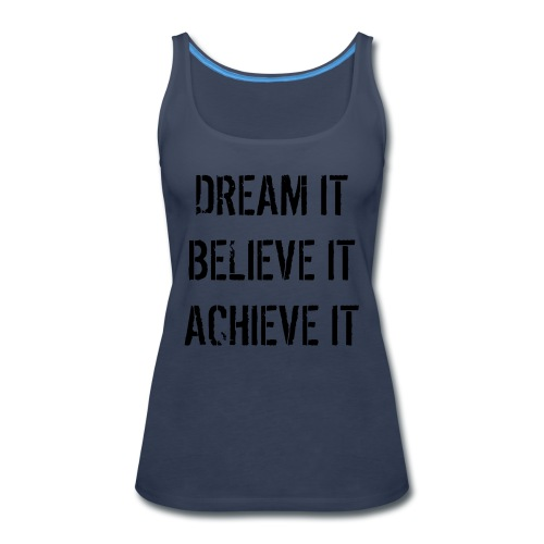 The Struggle is Real - Women's Premium Tank Top