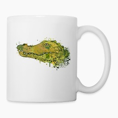 Crocodile Graffiti Mugs & Drinkware