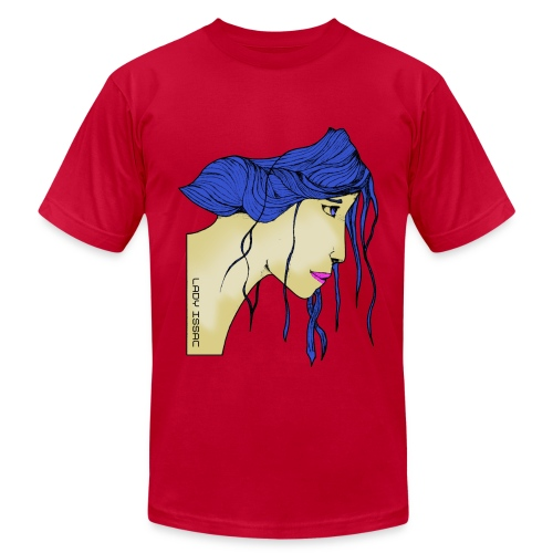 Lady Issac (American Tee) - Men's  Jersey T-Shirt