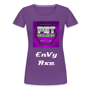 Womens EnVy Axe T-Shirt - Women's Premium T-Shirt