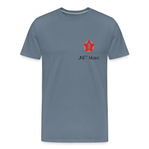JNET Music Staff T-Shirt - PREMIUM MALE - Men's Premium T-Shirt