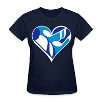 Music Note Heart - Women's T-Shirt