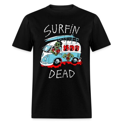 Surfin dead - Men's T-Shirt