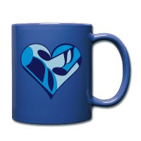 Music Note Heart - Full Color Mug