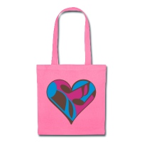 Music Note Heart - Tote Bag