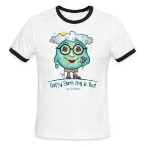 Mother Earth - Happy Earth Day - Men's Ringer T-Shirt