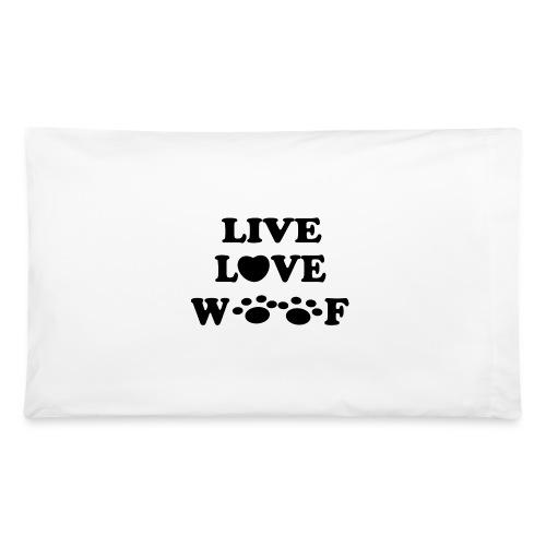 Live Love Woof Pillow  - Pillowcase