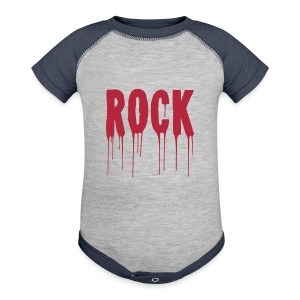 rock n roll baby - Baby Contrast One Piece