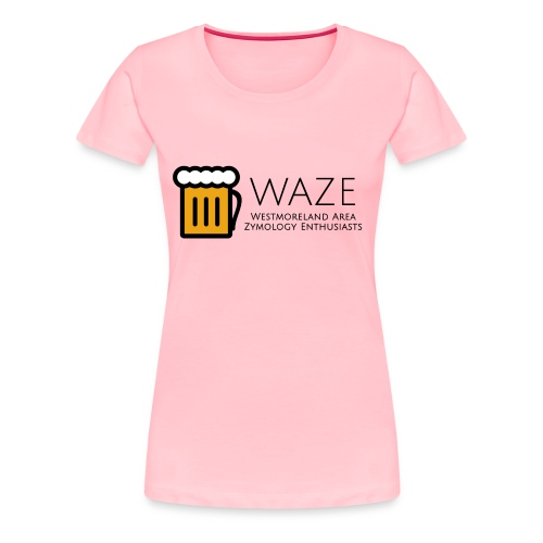 WAZE Womens Premium T-Shirt - Women's Premium T-Shirt