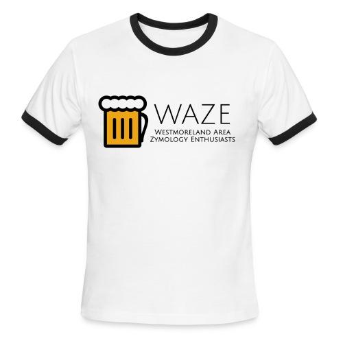 WAZE Ringer T-Shirt - Men's Ringer T-Shirt