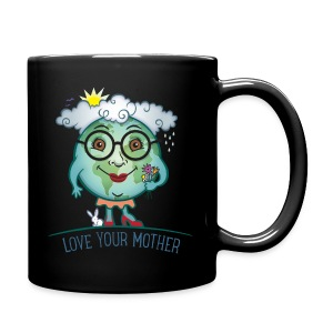 Mother Earth - Love Your Mother - Full Color Mug