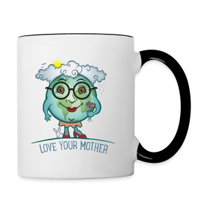 Mother Earth - Love Your Mother - Contrast Coffee Mug