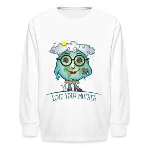 Mother Earth - Love Your Mother - Kids' Long Sleeve T-Shirt