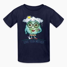Love Mother Earth Kids' Shirts
