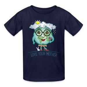 Mother Earth - Love Your Mother - Kids' T-Shirt