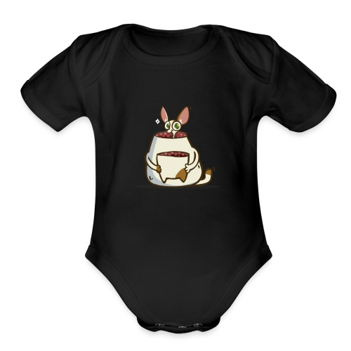 NotAcat — Friday Cat №49 - Organic Short Sleeve Baby Bodysuit