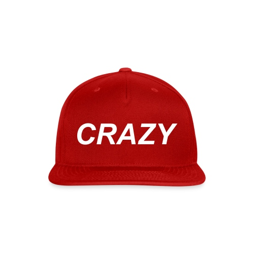 Collin Boyer Crazy Hat red - Snap-back Baseball Cap