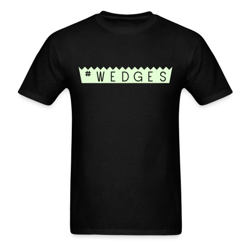 #wedges PB cup style - Men's T-Shirt