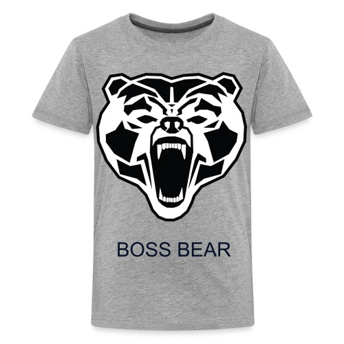 boss bear kids shirt - Kids' Premium T-Shirt