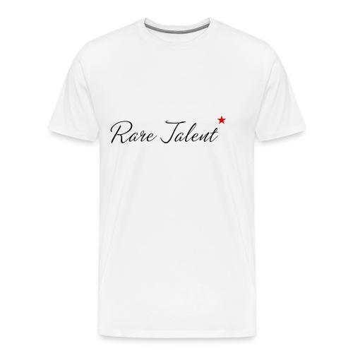 Rare Talent Black Text - Men's Premium T-Shirt