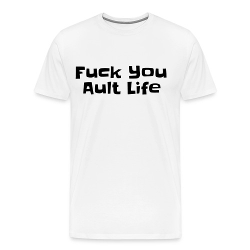 Adult Funny Design T-Shirts - Men's Premium T-Shirt