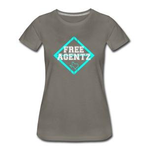 Free Agentz - Women's Premium T-Shirt