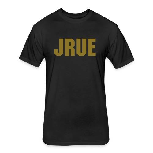 Gold Jrue - Fitted Cotton/Poly T-Shirt by Next Level