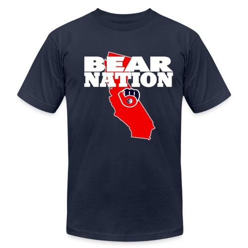 BEAR NATION - Men's Fine Jersey T-Shirt