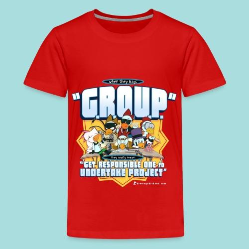 G.R.O.U.P. Projects - Kid's Tee - Kids' Premium T-Shirt