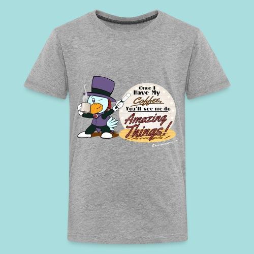 Amazing Coffee - Kid's Tee - Kids' Premium T-Shirt