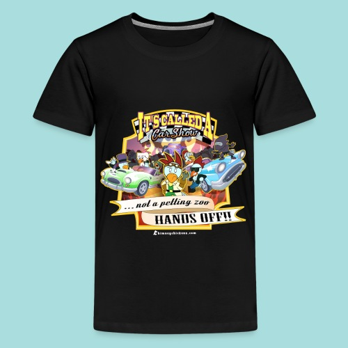 Car Show - Kid's Tee - Kids' Premium T-Shirt