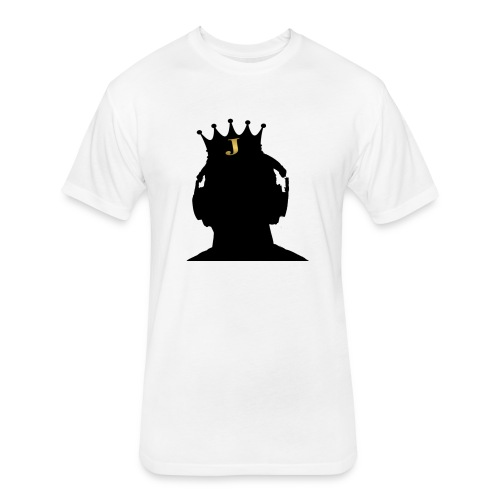 Jrue Logo  - Fitted Cotton/Poly T-Shirt by Next Level