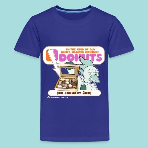 Bringin' Donuts - Kid's Tee - Kids' Premium T-Shirt