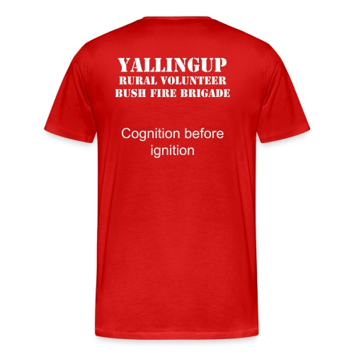 YRVBFB Cognition before ignition (M) - Men's Premium T-Shirt