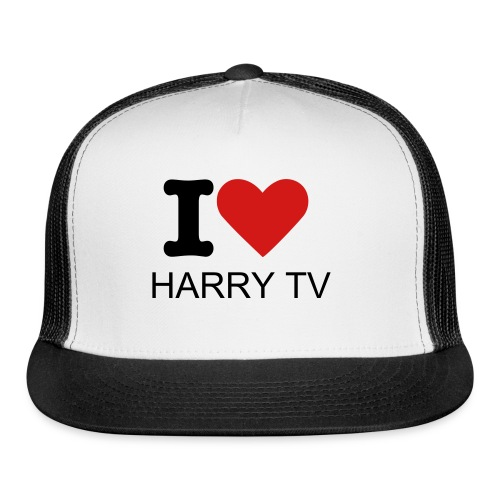 II LOVE HARRY TV HAT - Trucker Cap