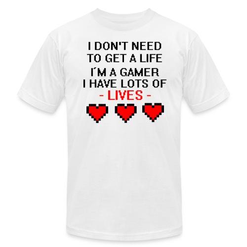 Lots of Lives - Men's Fine Jersey T-Shirt