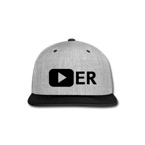 Youtuber Snapback - Snap-back Baseball Cap